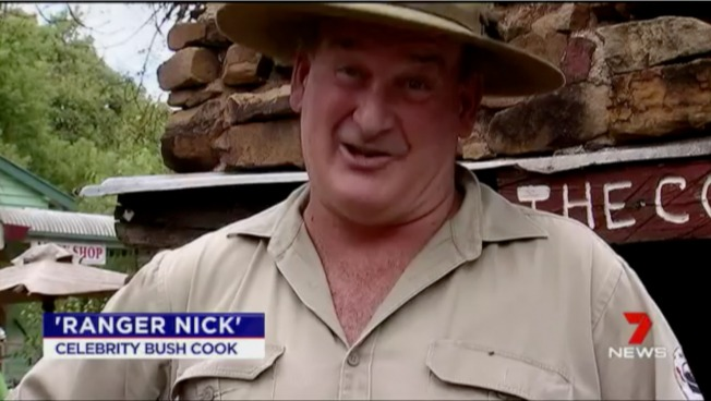 Ranger Nick on 7 News